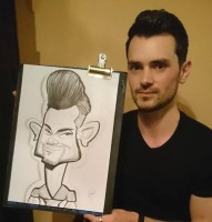 Caricature Artists Cheshire Pointon